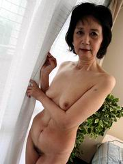 asian granny skinny Nude